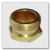 Brass Hex Civil Nut